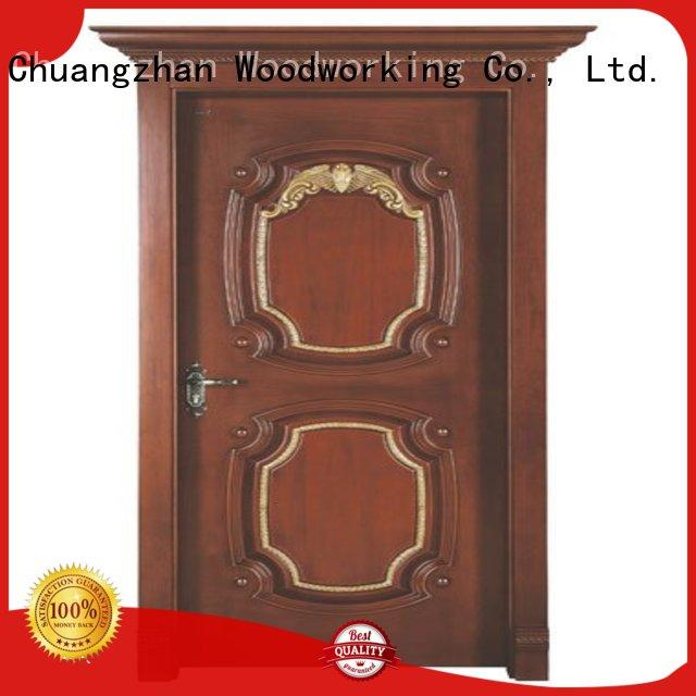 Runcheng Chuangzhan reliable interior wooden door with solid wood manufacturer for villas