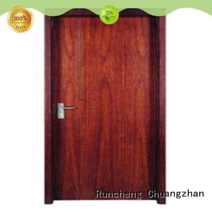 reliable solid wood flush door supplier for indoor