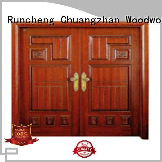 door white double doors double Runcheng Woodworking company