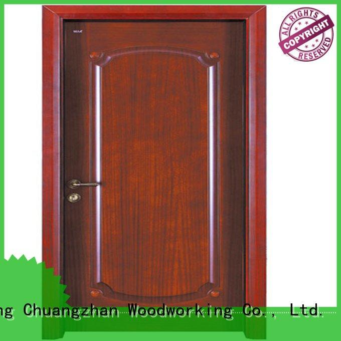 s020 d014 pp026 Runcheng Woodworking interior wooden door with solid wood