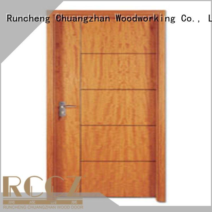 Runcheng Woodworking Brand pp0053 pp003t door wooden flush door