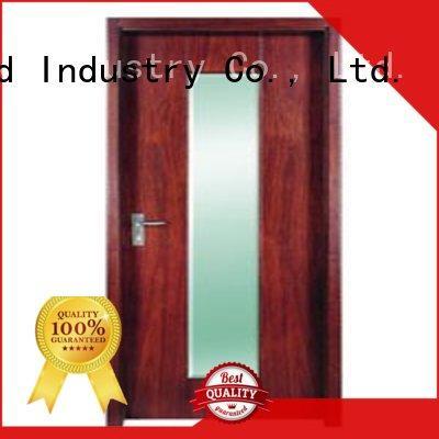 Runcheng Chuangzhan eco-friendly wooden flush door design for offices