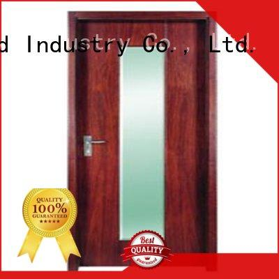 Runcheng Chuangzhan eco-friendly wooden flush door design for offices
