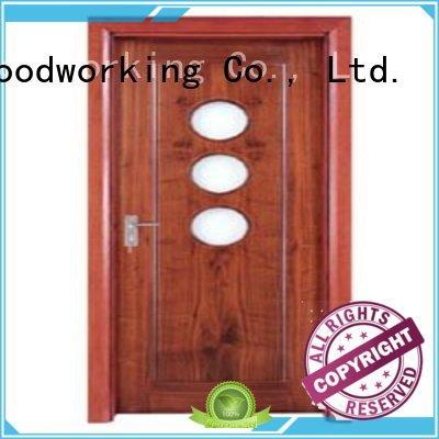 Runcheng Woodworking Brand durable door glazed custom hardwood glazed internal doors