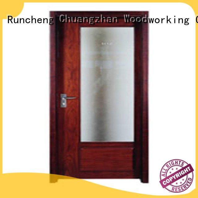 Runcheng Woodworking flush mdf interior wooden door door flush flush