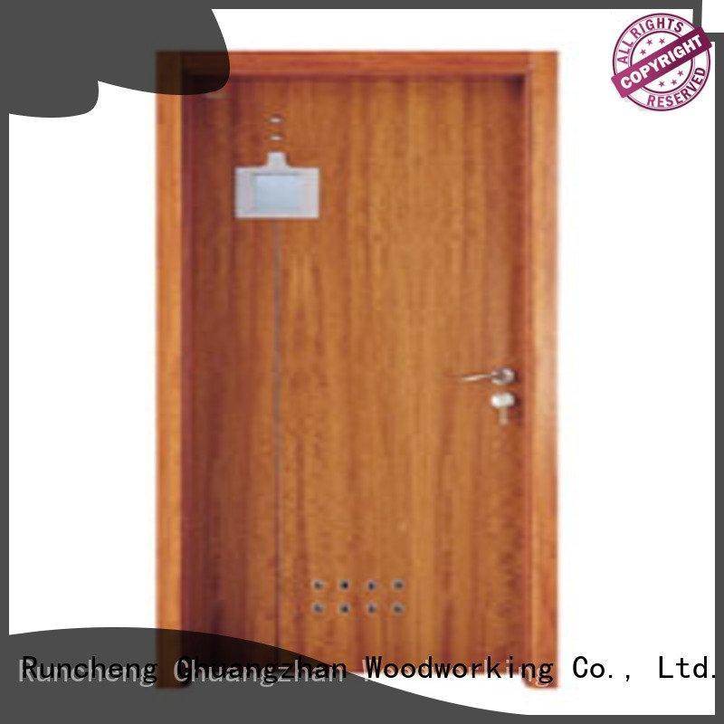 composite interior doors x0092 Runcheng Woodworking Brand solid wood bathroom doors