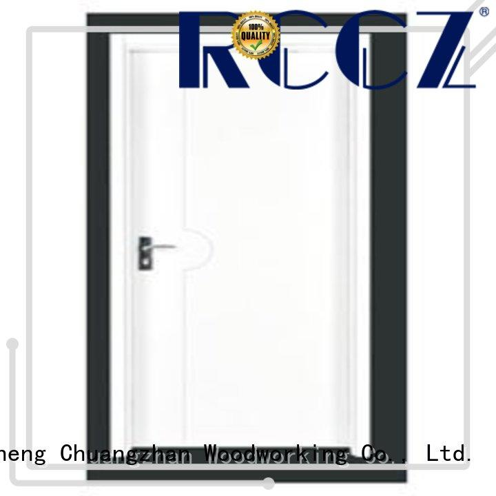 Runcheng Chuangzhan popular pine wood flush door manufacturer wholesale for homes