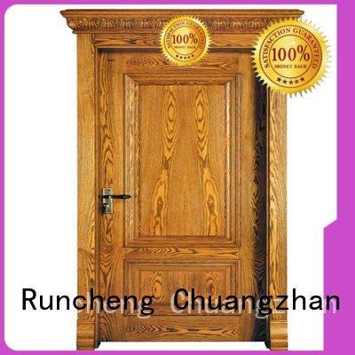 Wholesale door wood veneer sheets Runcheng Woodworking Brand