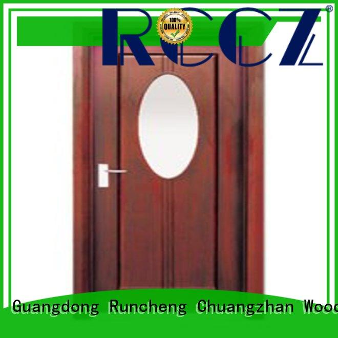 Runcheng Chuangzhan high-grade internal glazed doors factory for offices