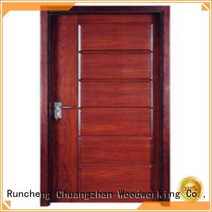 flush mdf interior wooden door door flush wooden flush door Runcheng Woodworking Brand