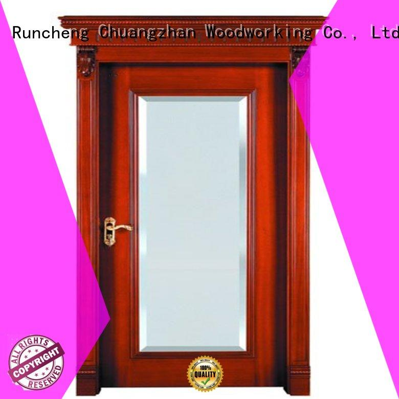 Runcheng Woodworking Brand door bathroom custom internal veneer doors