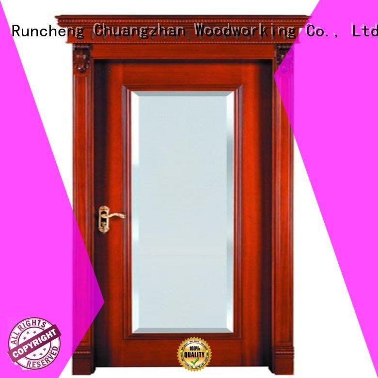 Runcheng Woodworking Brand door bathroom custom internal veneer doors