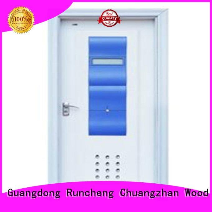 Runcheng Chuangzhan high-grade glazed bathroom door eco-friendly for villas