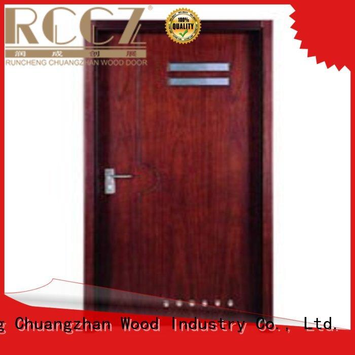 Runcheng Chuangzhan popular solid wood flush door series for offices