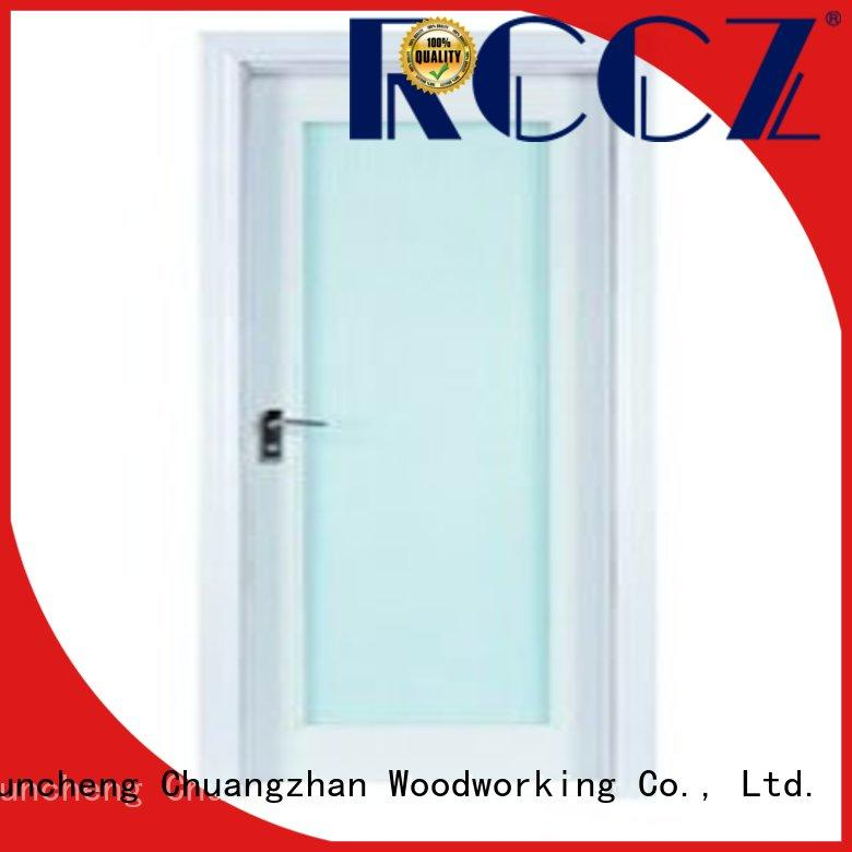 Runcheng Chuangzhan attractive wooden double glazed doors supply for hotels