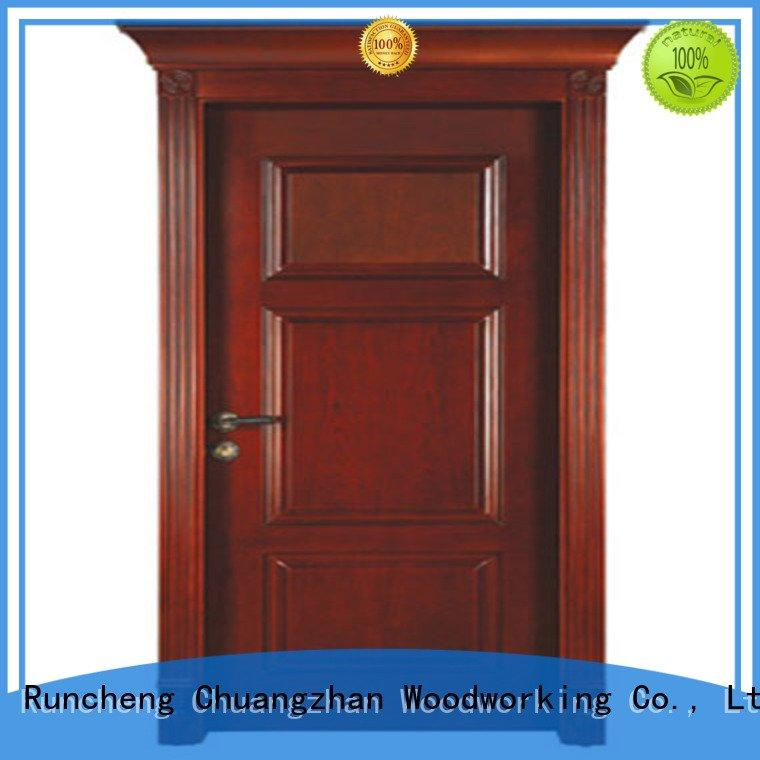 Runcheng Woodworking door bedroom solid wood bedroom composite door