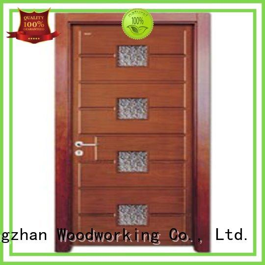Runcheng Chuangzhan white glazed interior doors factory for villas