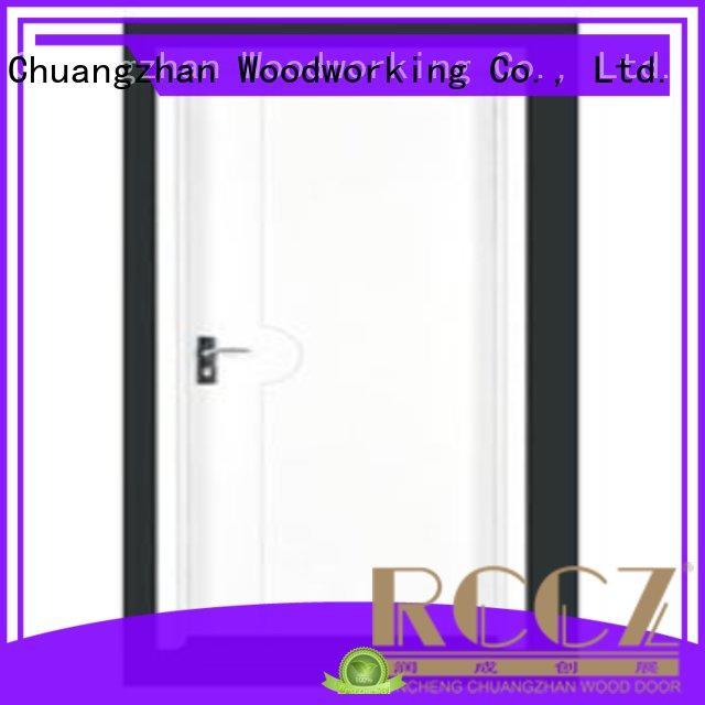 Runcheng Chuangzhan design flush wood door manufacturers wholesale for villas
