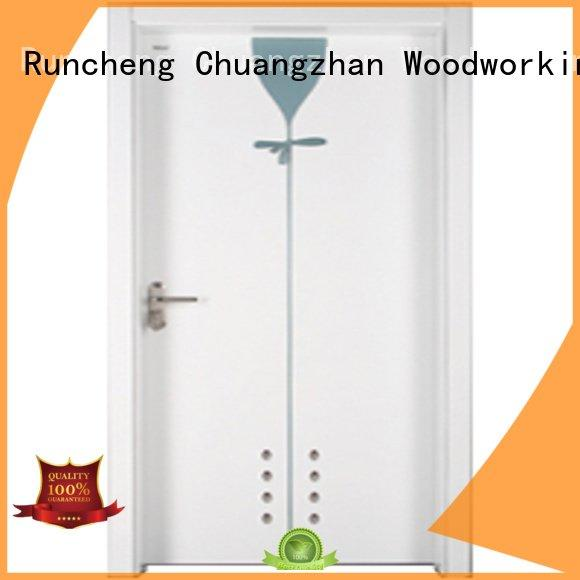 Hot wooden bathroom door bathroom Runcheng Woodworking Brand