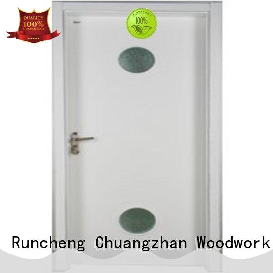 Runcheng Chuangzhan pure double glazed interior doors company for offices