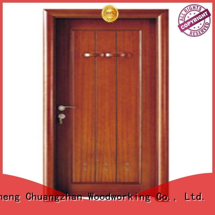composite interior doors door bathroom solid wood bathroom doors Runcheng Woodworking Warranty