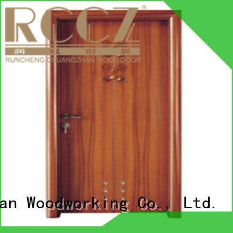 Runcheng Woodworking x0152 solid wood bathroom doors bathroom l0082