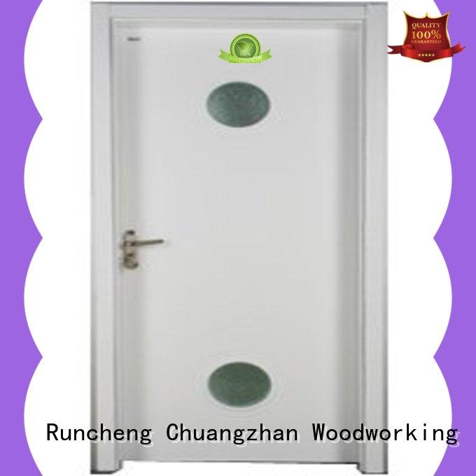 Runcheng Chuangzhan eco-friendly glazed wood door factory for hotels
