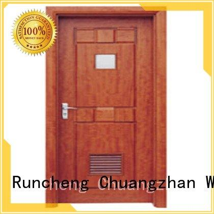 Runcheng Woodworking Brand bathroom door door solid wood bathroom doors door