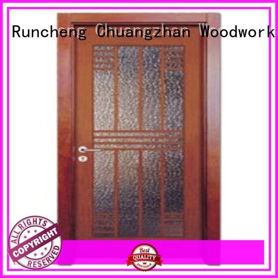 Runcheng Chuangzhan high-grade internal glazed doors manufacturers for villas