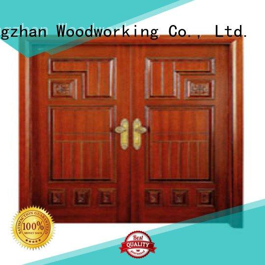 Custom double door interior double doors