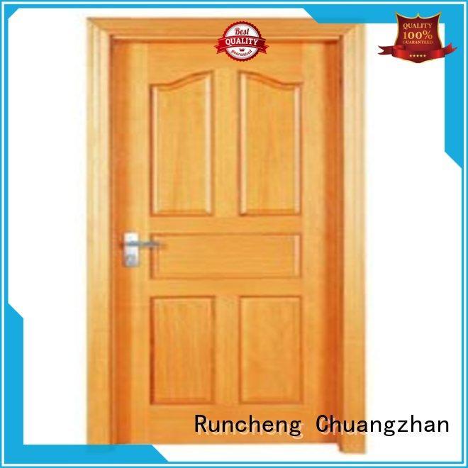 Runcheng Chuangzhan design wooden flush door design series for homes