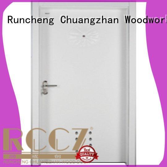 Runcheng Woodworking bathroom door wooden bathroom door