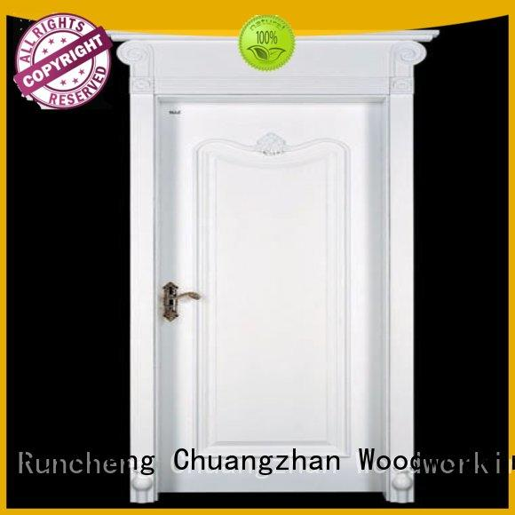 Runcheng Chuangzhan sunshine mdf composite wooden door series for hotels