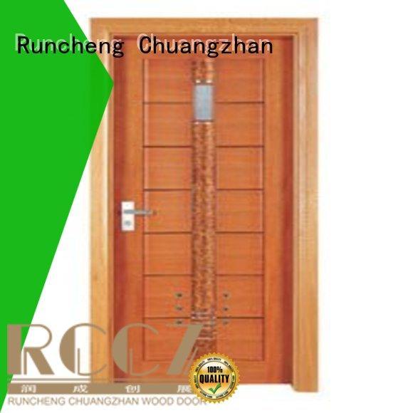 Runcheng Chuangzhan attractive wooden bathroom door company for homes