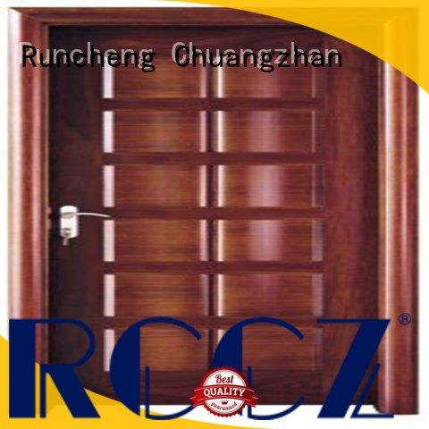 durability wood grain steel door steel series for indoor