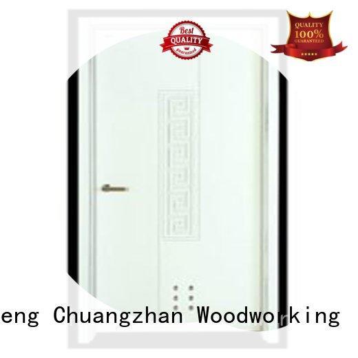 Runcheng Chuangzhan exquisite wooden flush door price series for villas