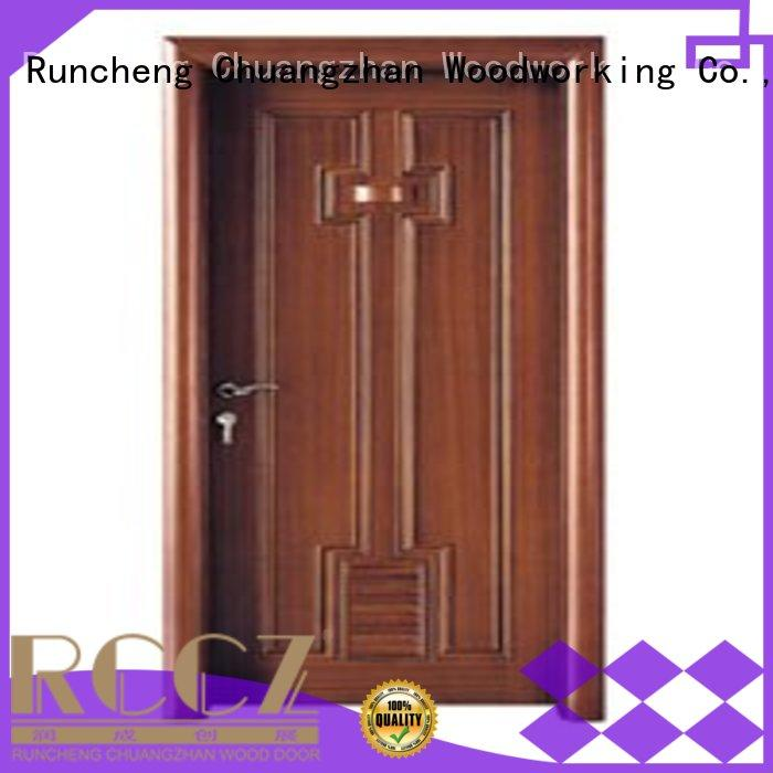Wholesale bathroom door bathroom door Runcheng Woodworking Brand
