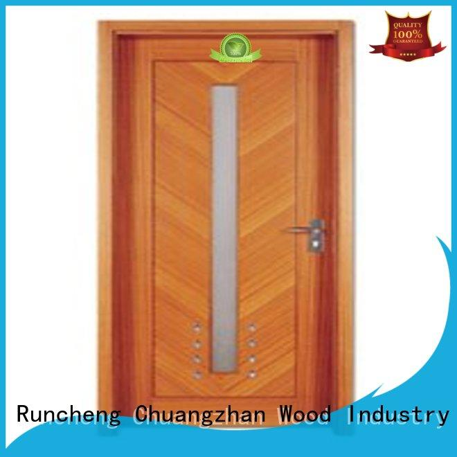 Runcheng Chuangzhan flush wood door manufacturers popular for offices