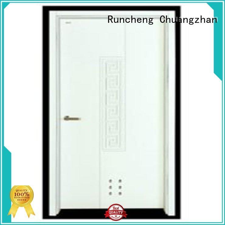 Runcheng Chuangzhan popular wooden flush door price supplier for homes