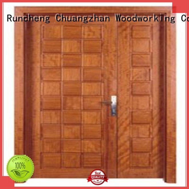 double door OEM interior double doors Runcheng Woodworking