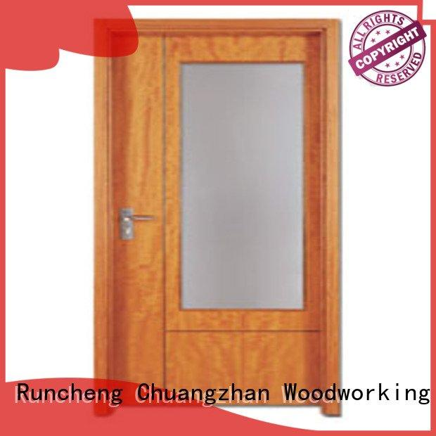 pp003t3 wooden flush door Runcheng Woodworking flush mdf interior wooden door