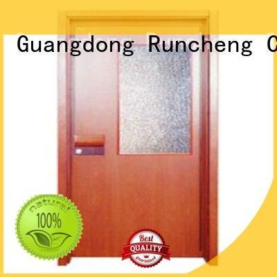 hot selling flush plywood flush internal doors Runcheng Chuangzhan Brand