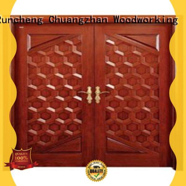 attractive double entrance doors eco-friendly manufacturers for villas