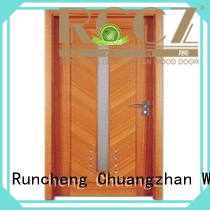 Wholesale hot selling flush mdf interior wooden door Runcheng Woodworking Brand