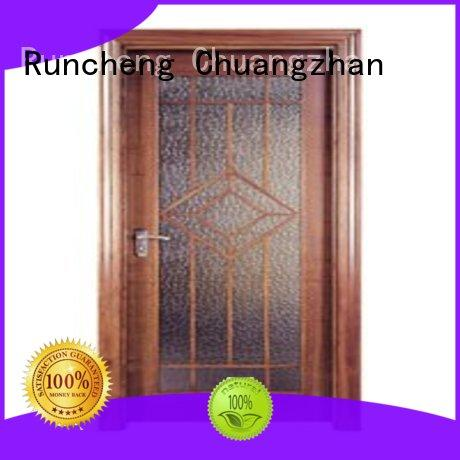 Runcheng Chuangzhan design hardwood flush door series for hotels