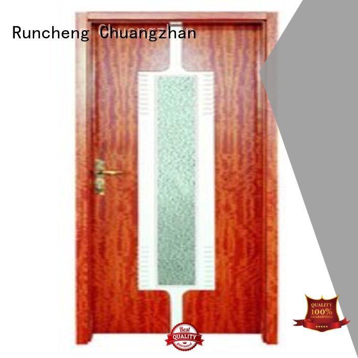 Runcheng Chuangzhan high-grade double glazed interior doors manufacturers for offices