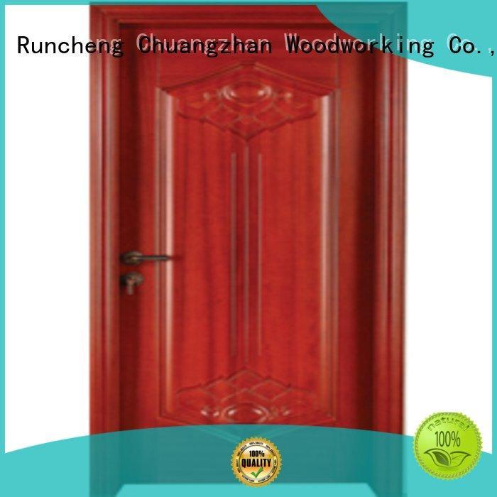 Runcheng Woodworking door bedroom wooden interior door pure wood