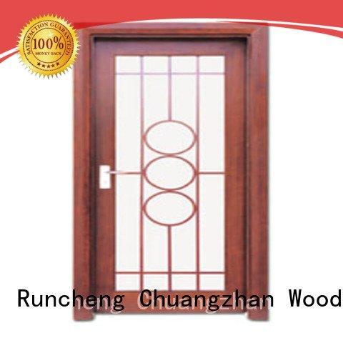 Runcheng Woodworking x0223 x0133 wooden double glazed doors d0074 x0104
