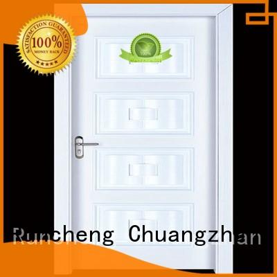 Runcheng Chuangzhan high-quality interior wooden door with solid wood easy installation for villas