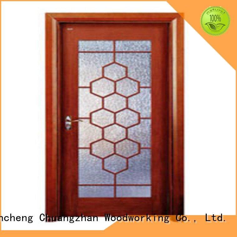 Runcheng Woodworking wooden double glazed doors x0133 x0223 x0094 l0083